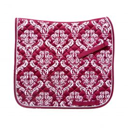 Plum Dressage Saddle Pad