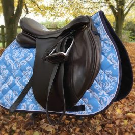 Light Blue GP Saddle Pad
