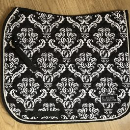Black Dressage Saddle Pad