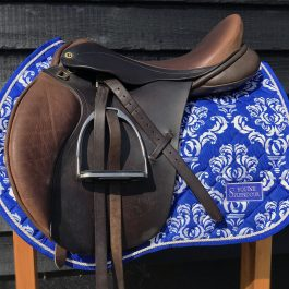 Royal Blue GP/Jump Saddle Pad